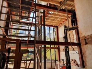 Project 13 - Willemsparkweg staalconstructie tbv uitbouws en achtergevels